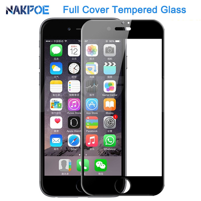 100D Protective Tempered Glass On The For IPhone 6 6s 7 8 Plus Glass Screen Protector For IPhone X XR XS 11 Pro MAX Glass Film
