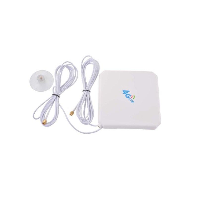 35dBi  4G SMA Antenna Male Dual Interface Mimo 4G LTE External Antenna For B525 B310 B315 B593 B612 B715 B818 2
