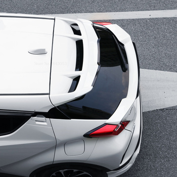 AITWATT Fit For Toyota CHR C-HR IZOA 2018 2019 2020 Black Red Spoiler ABS Plastic Rear Roof Spoiler High Quality Car Stying