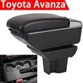 Для 2019 Toyota Avanza подлокотник коробка Универсальная автомобильная центральная консоль caja Модификация аксессуары двойной поднятый с USB