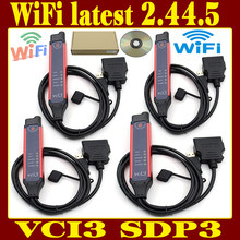 2020 новейшие OBD 2 V2.44.5 OBD2 Sanner инструмент SDP3 VCI3 V2.44.5 VCI3 сканер WI-FI Wi-Fi для Беспроводной VCI-3 грузовик диагностики