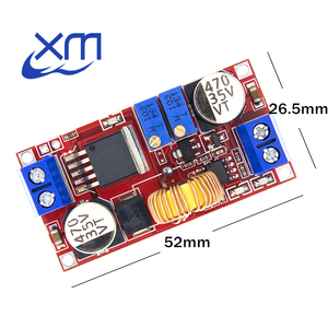 5A DC to DC CC CV Lithium Battery Step down Charging Board Led Power Converter Lithium Charger Step Down Module hong XL4015(China)
