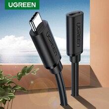 UGREEN Cable extensor USB C macho a hembra, tipo C, Thunderbolt 3, Compatible con Nintendo Switch, MacBook