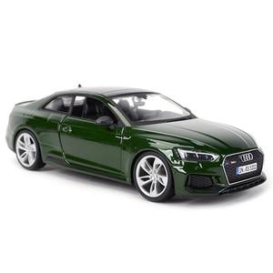 Image 5 - Bburago 1:24 Audi RS5 Coupe Sport Auto Statico Pressofuso Veicoli Da Collezione Modello di Auto Giocattoli