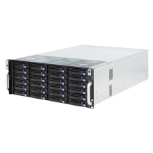 19 zoll 4U rack hot-swap chassis 24HDD buchten NVR IPFS wolke lagerung IPC server fall S465-24 mehrere backplane optionen 650MM