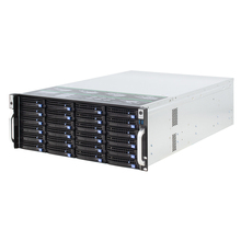 4U rack hot-swap chassis 24 buchten NVR IPFS cloud storage server fall S465-24 6GB MINISAS backplane unterstützung e-ATX motherboard