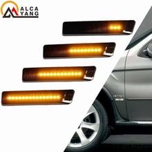 цена на Led Dynamic Turn Signal Light Side Marker Fender Sequential Lamp Blinker For BMW E36 M3 Facelift 1997-1999 X5 E53 1999-2006