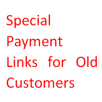 Special link for Custom fee,Shipping fee or the Difference