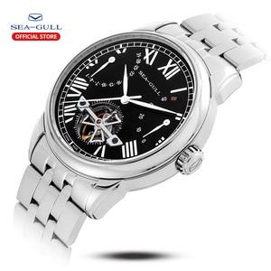 Image 2 - Seagull mechanical watch 40mm high quality watch automatic mens business watch waterproof mechanical watch 816.522