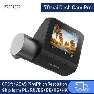 70mai Dash Cam pro Car DVR 1944P Super Clear,70mai pro Optional GPS Module for ADAS, Parking Monitor, 140 FOV, Night Vision(China)