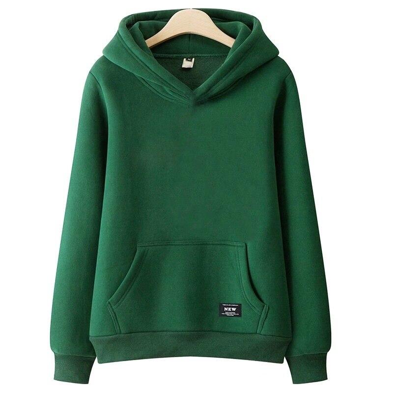 Женская толстовка без бархата тонкий пуловер большого размера