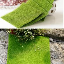 2 Size Innovative Micro Landscape Artificial Grass Landscape Home Accessories Aquarium Decoration Artificial Lawn Garden