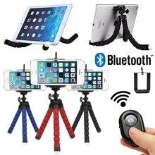 Bouton Bluetooth télécommande pour iPhone Xiaomi Samsung Smartphone Selfie Stick trépied Flexible monopode Palo Selfie Tripode