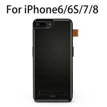 7500mAh BDR-D714/5500mAh D713Multifunctional Protective Case Power Bank with Hiding Type Bracket & USB Port for iPhone