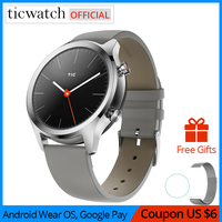 Ticwatch C2 Smartwatch Wear OS by Google Bluetooth V4.1 Built in GPS Heart Rate Monitor Fitness Tracker NFC Google Pay 400mAh|Smart Watches|Consumer Electronics -