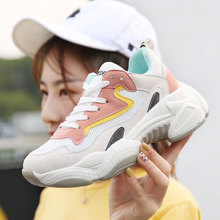 High Quality Women Sneakers Height Increasing Running Shoes Sports Shoes 2019 Non-slip Jogging Female Trainers Zapatillas Mujer цена