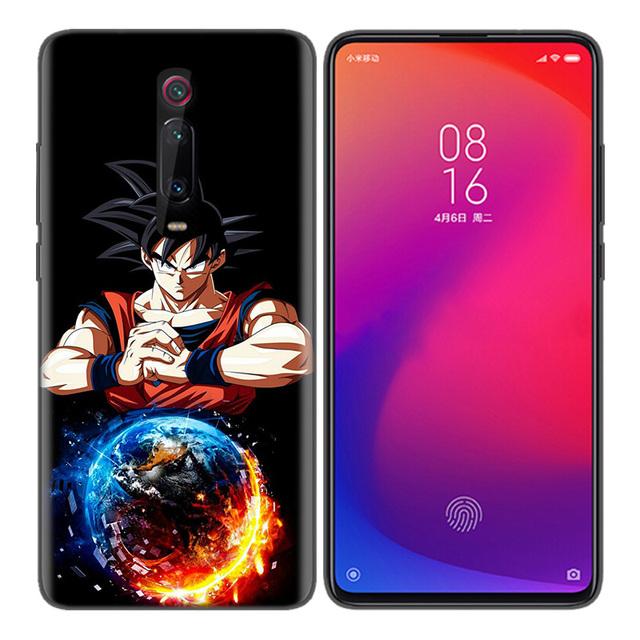 Dragon Ball Silicone Case Cover for Xiaomi Mi Models
