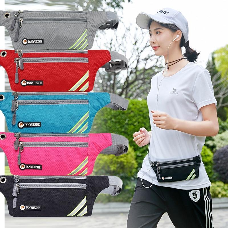 Waist Pack Women's Ultra-Light Hidden Outdoor Sports Mobile Phone Bag Waterproof Mini Mobile Phone Men's Multi-functional Marath
