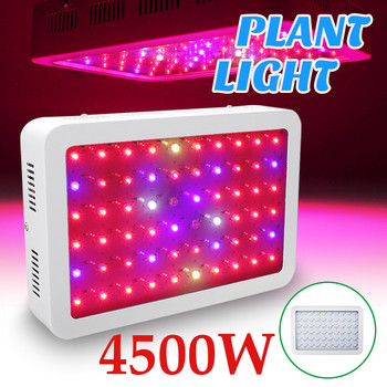 4500W LED Grow Light Phyto Lamp For Plant AC85-265V Phytolamp For Plants Full Spectrum Flower Seedling Cultivation US/EU/AU Plug