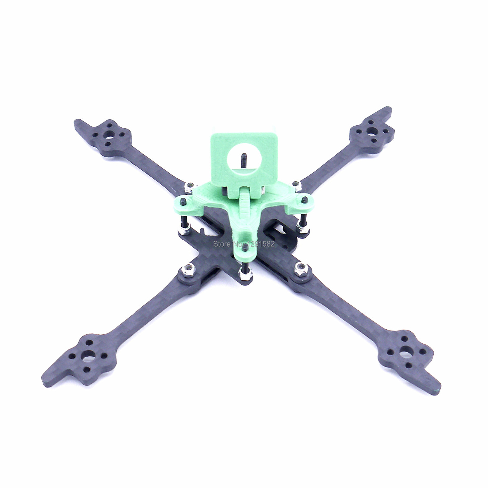 Image 3 - FPV Fonster Kpro 2.5inch 125 125mm X type Toothpick 3mm Arm thickness FPV Tiny Frame for FPV Racing Drone kitParts & Accessories   -