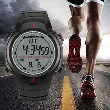 Relojes deportivos multifunción para Hombre, con pantalla LED Digital, calendario, resistente al agua, electrónico, masculino