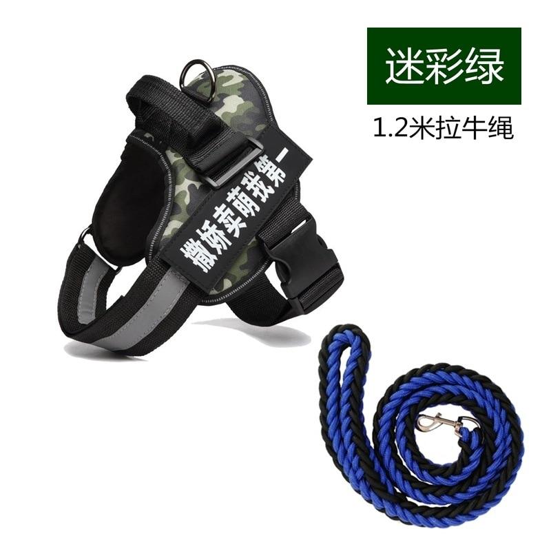 Dog K9 Suspender Strap Lanyard Pomeranian-Type Traction Dog Lanyard Sub-Vest Unscalable Golden Retriever Dog Chain Thoracic Trac