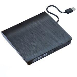 Image 2 - USB 3,0 тонкий внешний DVD RW CD записывающее устройство, устройство для чтения и записи дисков, оптический привод для ноутбука, ПК, dvd