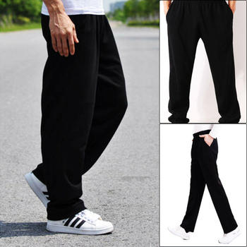 Mens Loose Chef Trousers Food Service Work Wear Solid Color Kitchen Restaurant Uniforms Cook Pants for Man Chef Pants