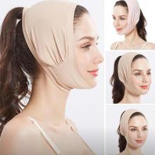 Double Chin Face Bandage Slim Face Lift Up Anti Wrinkle Mask Strap Band V Face Line Belt Wo