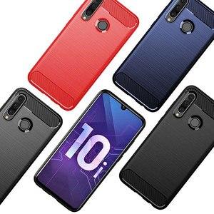 Image 5 - Coque en silicone souple antichoc en Fiber de carbone pour Huawei P20 P30 Lite Nova 3 3i Y5 Y6 2018 Mate 20 Lite