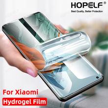 Hydrożel Film dla Xiaomi Mi 11 Pro uwaga 10 Lite 9 Sceen Protector bez szkła dla Xiaomi Mi 11 Ultra 10 11i 10i 9t 10t Pro dla Mi tanie tanio HOPELF TEMPERED GLASS CN (pochodzenie) Folia na przód