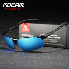 Sunglasses for Men from KDEAM Driving Polarized Sun Glasses Mens Fashion Pilot UV400 Eye-Protection Male Cool Sports