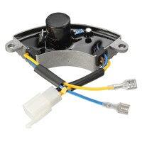 3500 Watt Generator AVR Automatic Voltage Regulator Rectifier AVR 250V 220uF Aluminum Base cover 6 wires 1