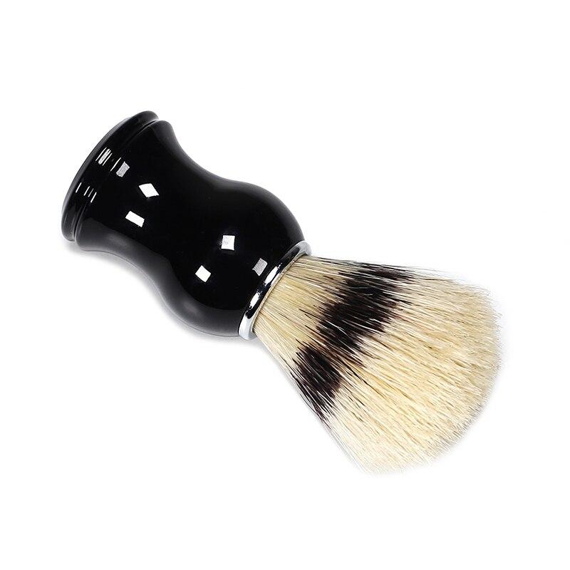 Men Beard Soft Comb Pocket Size Bristle Brush Hairdresser Cleaner