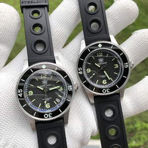 Image 5 - STEELDIVE 1952 Worlds First Dive Watch Fifty Fathoms Steel Diving Watch 300m Mens Automatic Mechanical Watches Sapphire Luxury