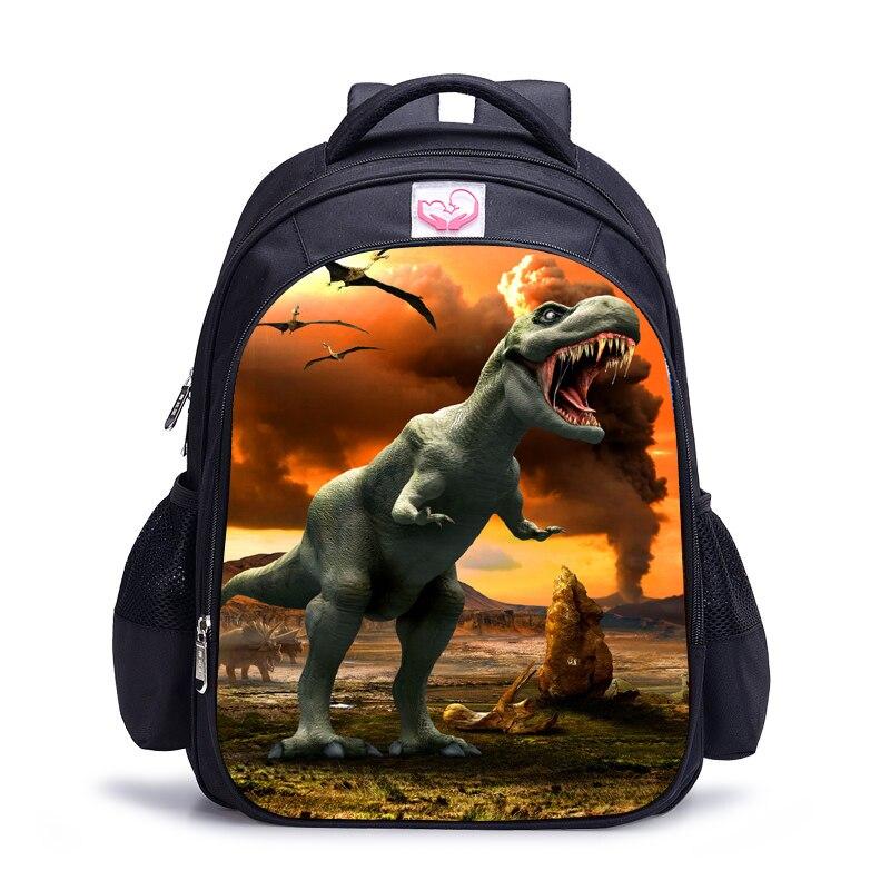 16 inc. Детский рюкзак с динозавром, детские школьные ранцы для мальчиков, ортопедический рюкзак для мальчиков, рюкзак Mochila|Рюкзаки| | АлиЭкспресс