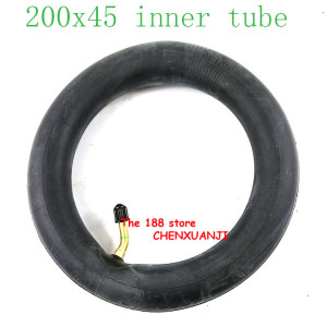 "Image 2 - 200x45 Inflated inner tube For E twow S2 Scooter Pneumatic Wheel 8"" Scooter Wheelchair Air wheel inner tire 8x1 1/4 tube"