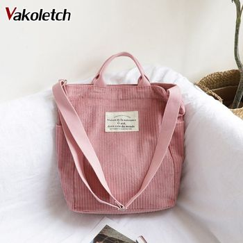 Large Capacity Cloth Handbag  women 1