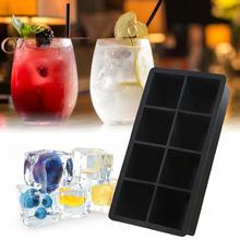 Ice-Cube Silicone-Chips Kitchen-Bar Square Making Food-Grade Giant for Eight