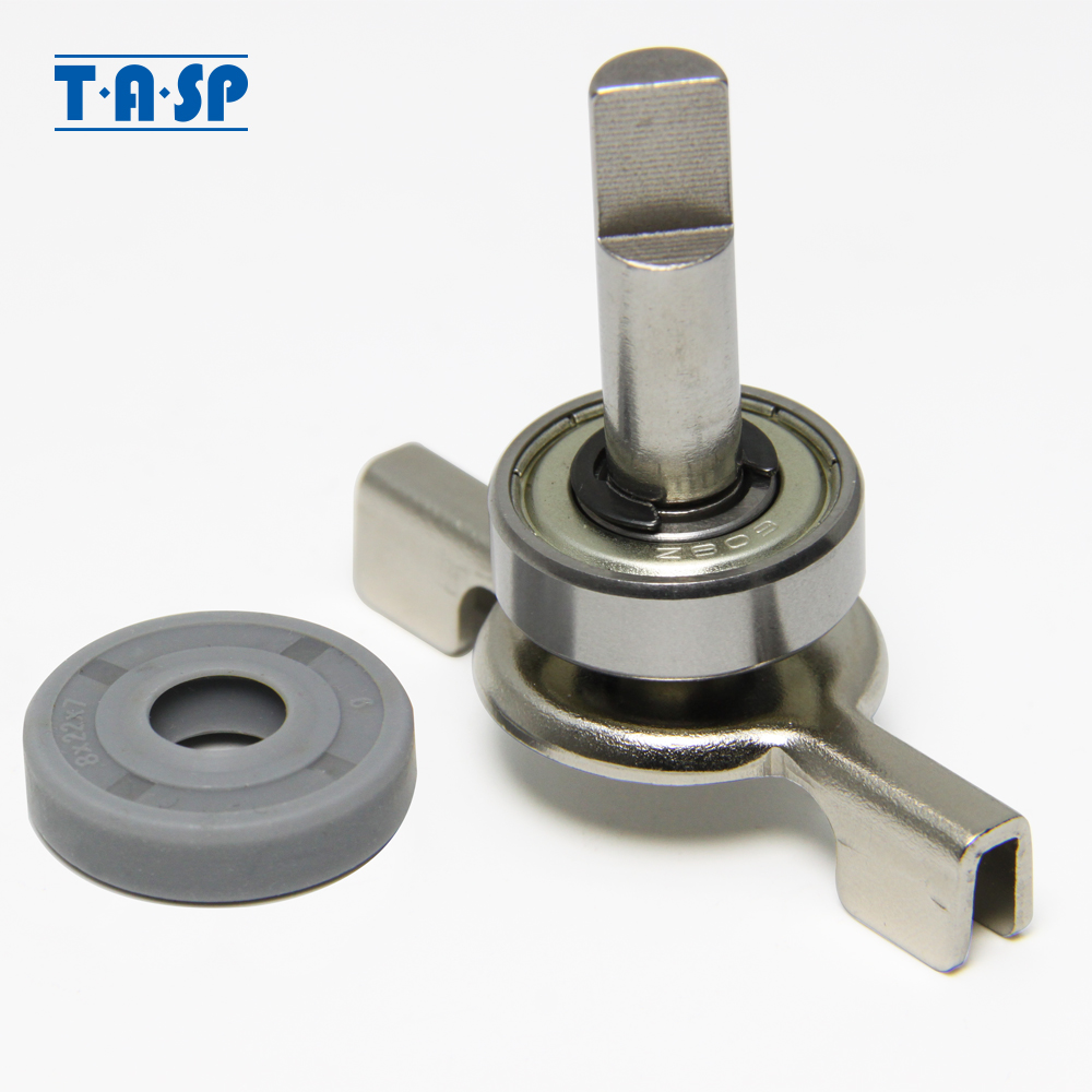 1pc Shaft Assembly Parts With Bearing(608Z) And Oil Seal(8 * 22 * 7mm) For LG Breadmaker Buckets 1.5L & 2.0L