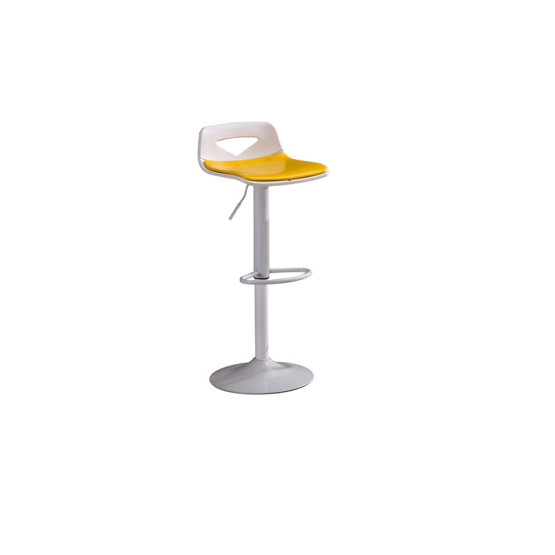 Iron Bar Stool Lift Bar Chair Modern Minimalist Rotating Bar Chair High Stool Cash Register Chair Back Stool Home