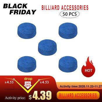 50 PCS 9MM / 10MM / 12MM / 13MM Pool Cue Tips Billiard Cue Head Snooker CueTips Billiard Accessories
