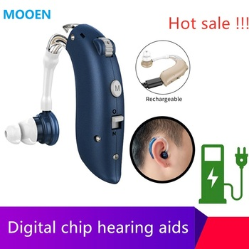 2020 nowe tanie aparaty słuchowe ucho do głuchota wzmacniacz dźwięku regulowane aparaty słuchowe cyfrowy wzmacniacz słuchu dla osób w podeszłym wieku tanie i dobre opinie SEKADAO Chin kontynentalnych audifonos headphones sound amplifier rechargeable hearing aids hearing aids digital mini hearing aids