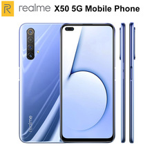 Oirginal New Realme X50 5G Mobile Phone 12GB RAM 256GB ROM 6.57