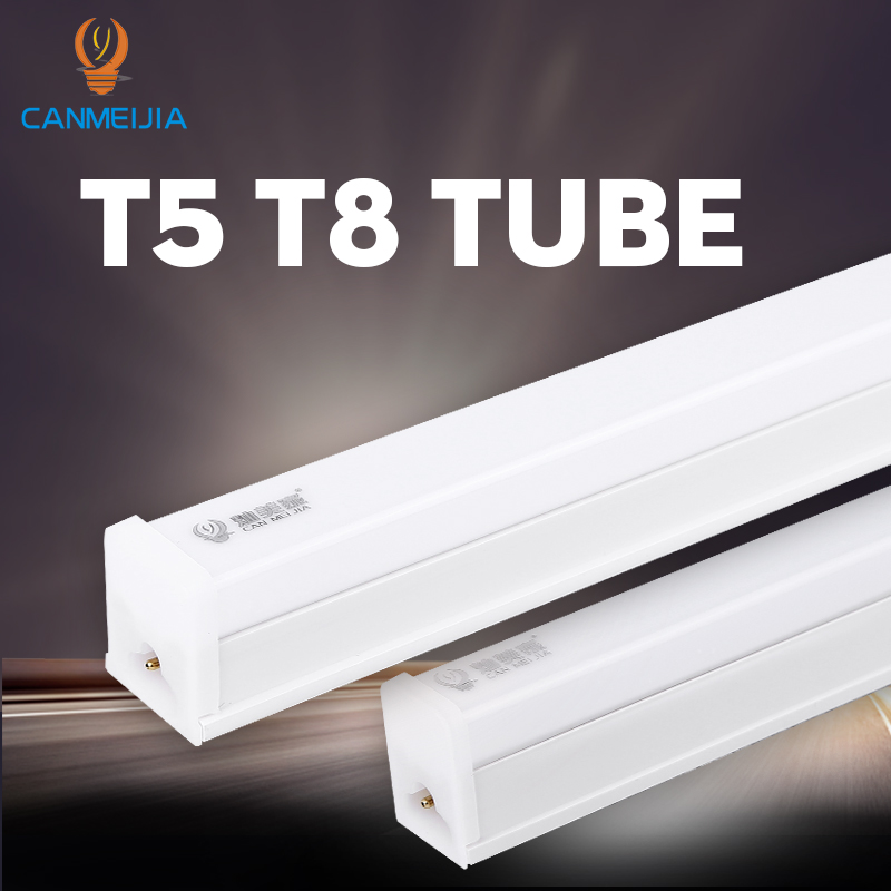 T5 T8 Led Tube Light 220V LED Lamp 30CM 60CM 1FT 2FT Wall Lamp Lampada Ampoule Tube Bar Warm Cold White Kitchen Home Lighting