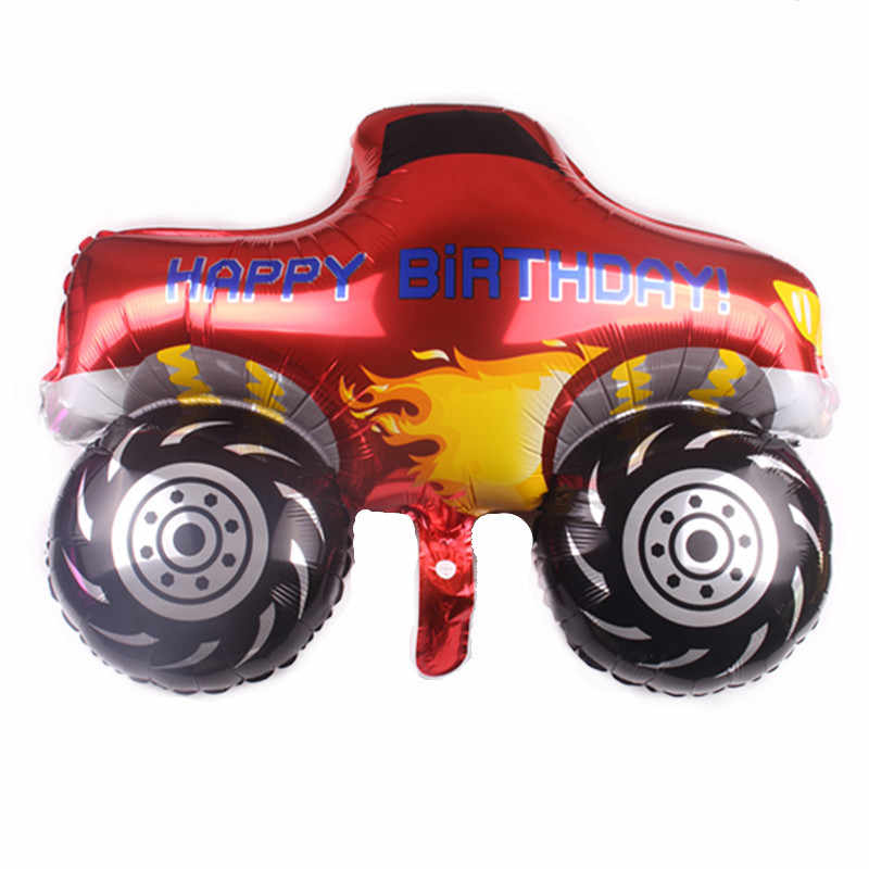 1Pcs Blaze En De Monster Machines Ballon Kids Verjaardagsfeestje Supplies Ballon Brandweerwagen Ballon Baby Shower Decoratie