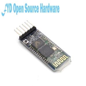 Image 5 - 5pcs HC 05 HC 05 master slave 6pin JY MCU anti reverse, integrated Bluetooth serial pass through module, wireless serial