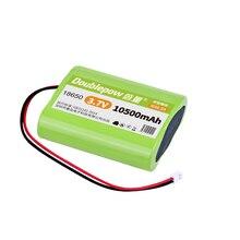 37 в 18650 литиевая батарея 10500 мА/ч Перезаряжаемые батарейный