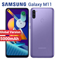Global Samsung Galaxy M11 Mobile Phone 5000mAh 32GB 3GB M115F-DS 6.4 Snapdragon 450 13MP Android 10 Dual SIM 4G Smartphone
