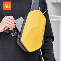 Xiaomi tajezzo beaborn plutônio mochila usb saco à prova dwaterproof água colorido lazer esportes peito pacote sacos para homens mulher viagem acampamento